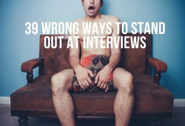 Wrong Reasons to Stand Out