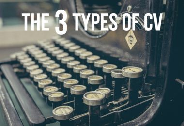 The 3 Types of CV